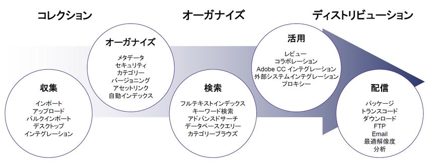 DAMによるデジタルアセットのライフサイクル管理
